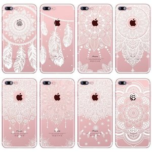 Mandala Lace Case for iPhone 8