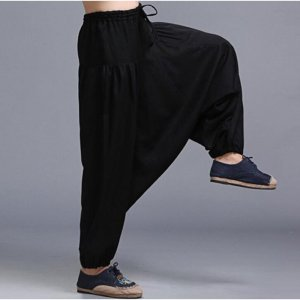 Men's Loose Style Linen Pants 6