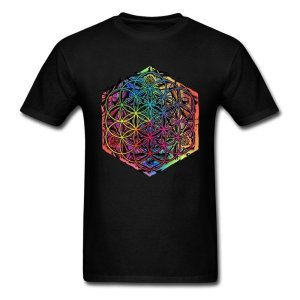 Men's Rainbow Mandala T-Shirt 6