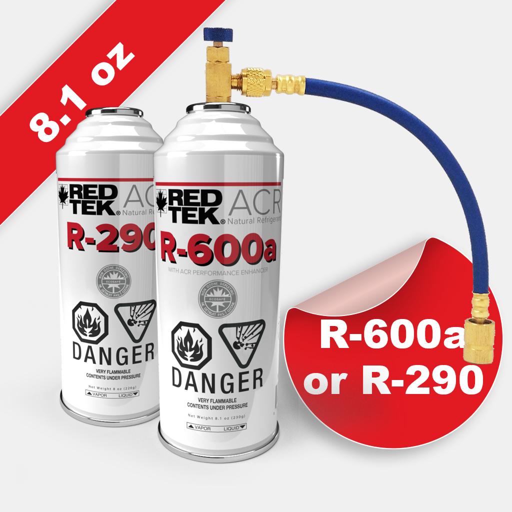 refrigerant starter kit