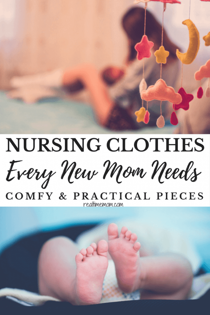 comfy nursing clothes every new mom needs