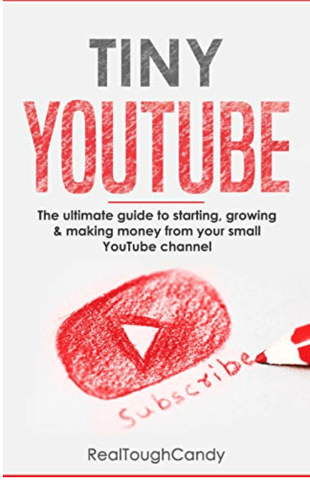 tiny youtube book by realtoughcandy