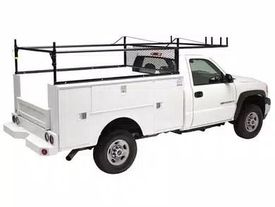 vanguard service body utility racks
