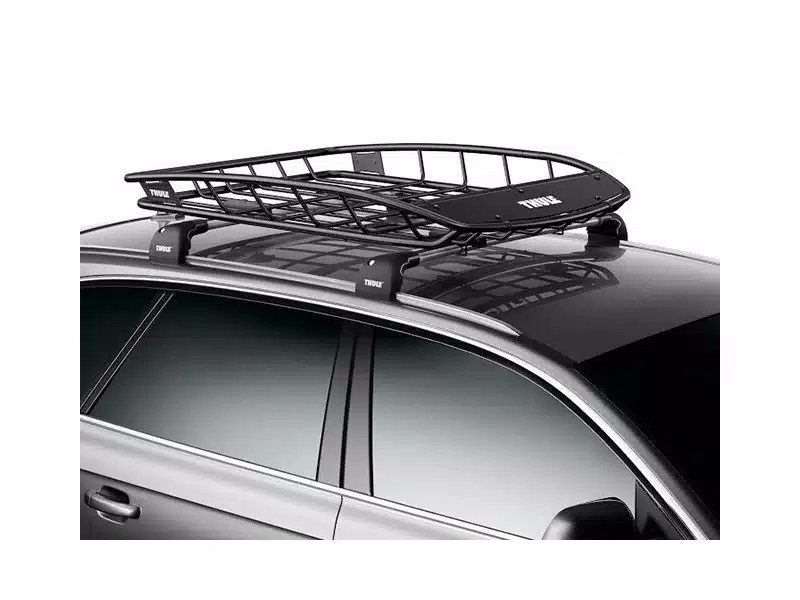 thule canyon roof mount cargo basket