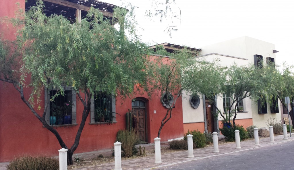 Mercado District Mexican Colonial architecture blended with Contemporary