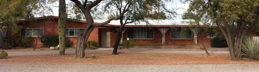 Mid Century Ranch home in Wilshire Heights neighborhood Tucson