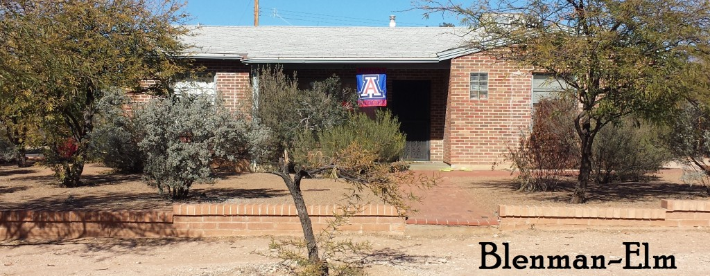 Homes for sale in historic Blenman Elm neighborhood, Tucson