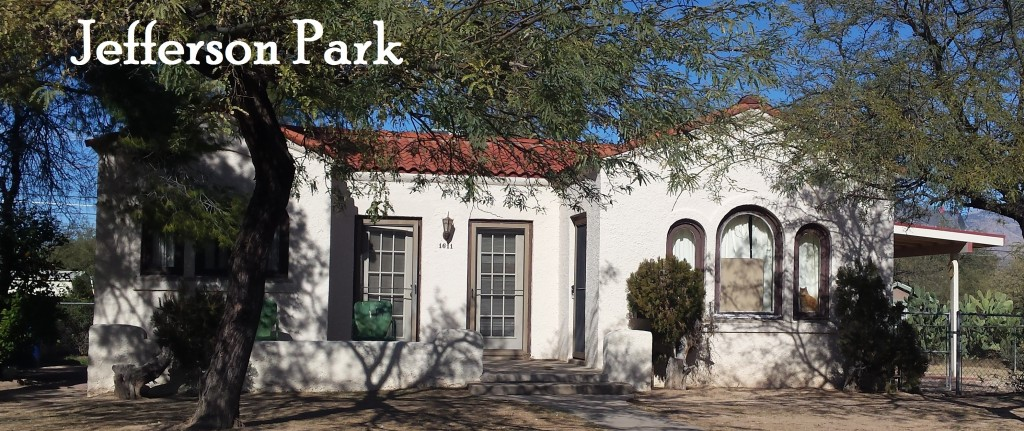 Homes for sale in historic Jefferson Park neighborhood, Tucson