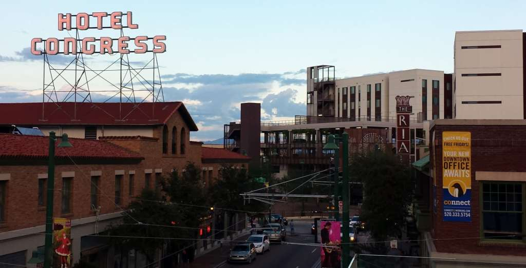 Congress Street in Downtown Tucson