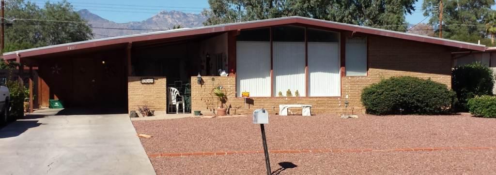 mid century homes in Tucson