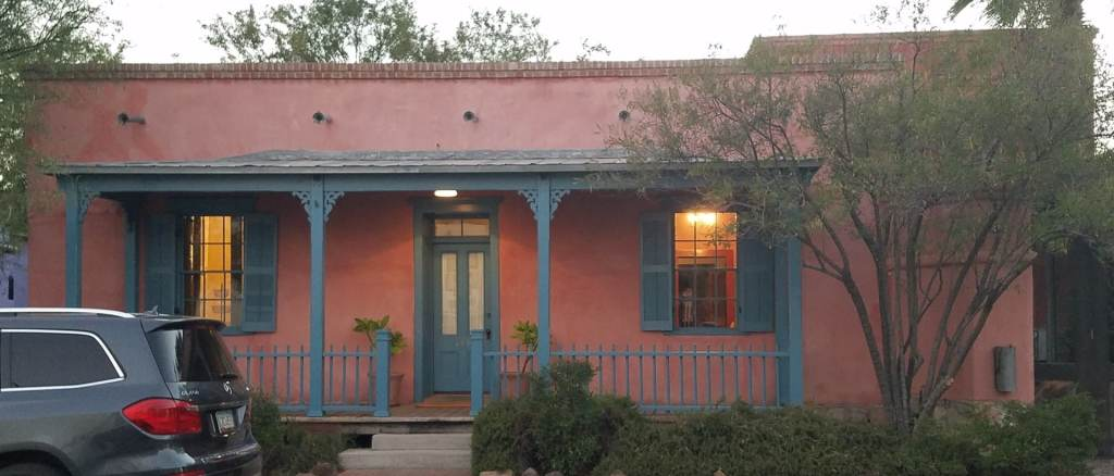 Transitional Territorial style in the Tucson Barrio