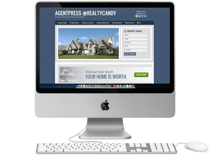 AgentPress Premium Real Estate Theme Wordpress