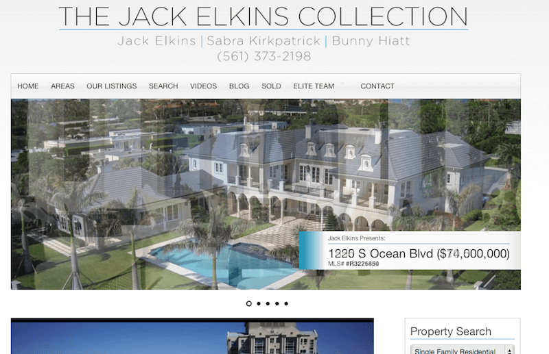 slider Real Estate Website of the Week IDX Broker AgentPress JackElkins slider