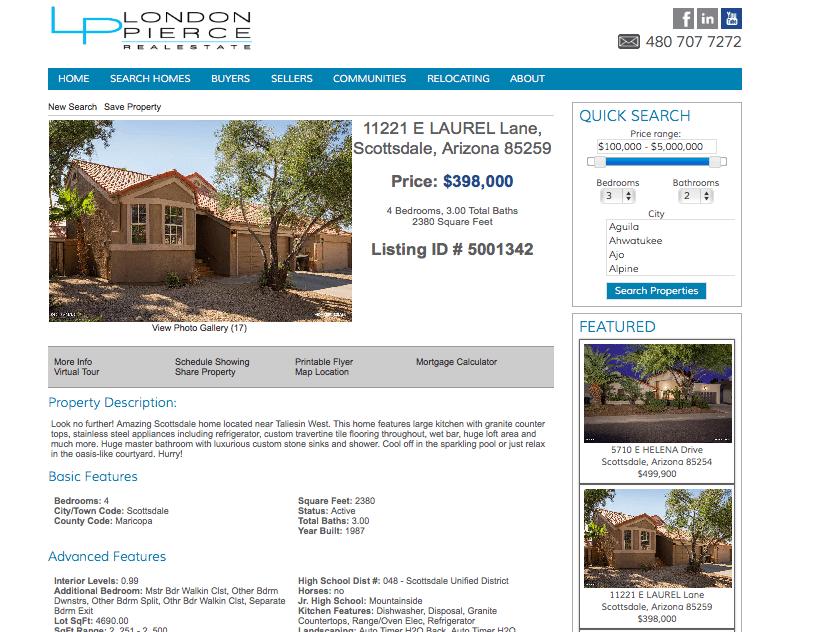 Complete Scottsdale listings