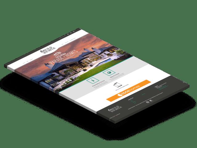 Parade of Home website design
