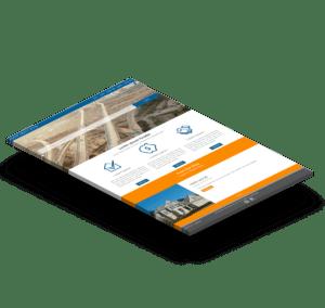 Modern WordPress real estate agent website template