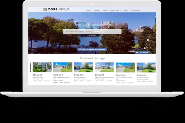 Florida real estate websites CoreGroup