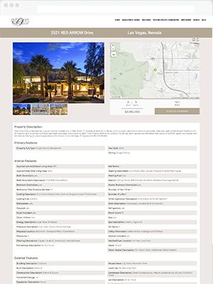 ollins details template real estate idx broker customization