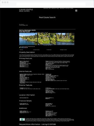 seattle luxury details template idx broker customization