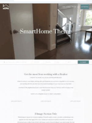 SmartHome Free WordPress Theme IDX Broker Ready Download