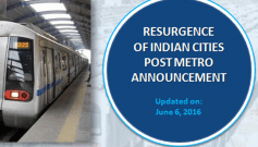 Resurgence of Indian Cities Post Metro Announcement
