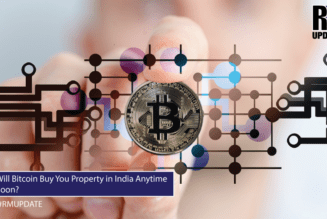 Will bitcoin buy you property in India anytime soon?