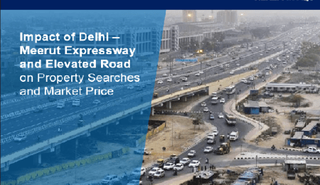 Impact of Delhi-Meerut Expressway and Elevated Road on market prices and online property searches
