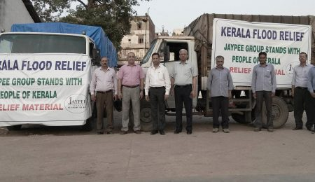 Relief Material sent by Jaypee Group to Kerala_17th Sep