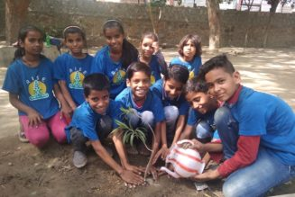 Tree Plantation drive on World Environment Day by AROH Foundation RealtyMyths