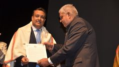 Sumant Sinha honoured