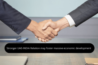 Stronger UAE-INDIA Relation,RealtyMyths