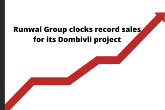 Runwal Group clocks record