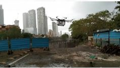 Aerial Disinfection Drone by Maharashtra Cabinet Minister Aaditya Thackeray