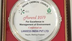 LANXESS India wins prestigious awards from Indian Chemical Council