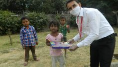 ICCPL brings smile to needy children this festival