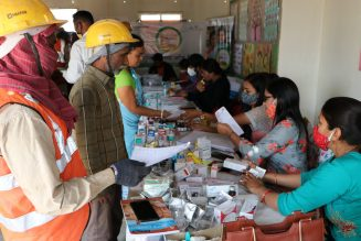 M3M Foundation organizes a free health checkup camp for construction workers and their families at Gurugram