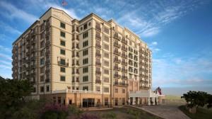Rendering of Austin Granduca Hotel