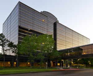 Eight Greenspoint is occupied by Exxon Mobil in Houston