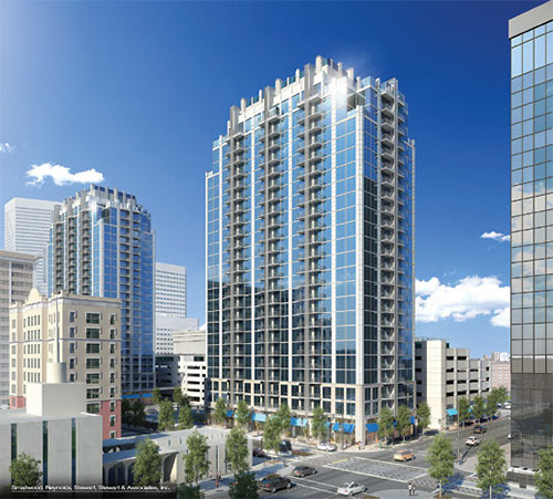 Apt Houston: Novare Starting Another High-Rise Residential Tower In