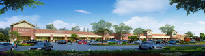 Rendering of Woodshore Marketplace