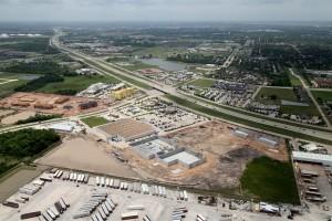 Market at Crenshaw is under construction.