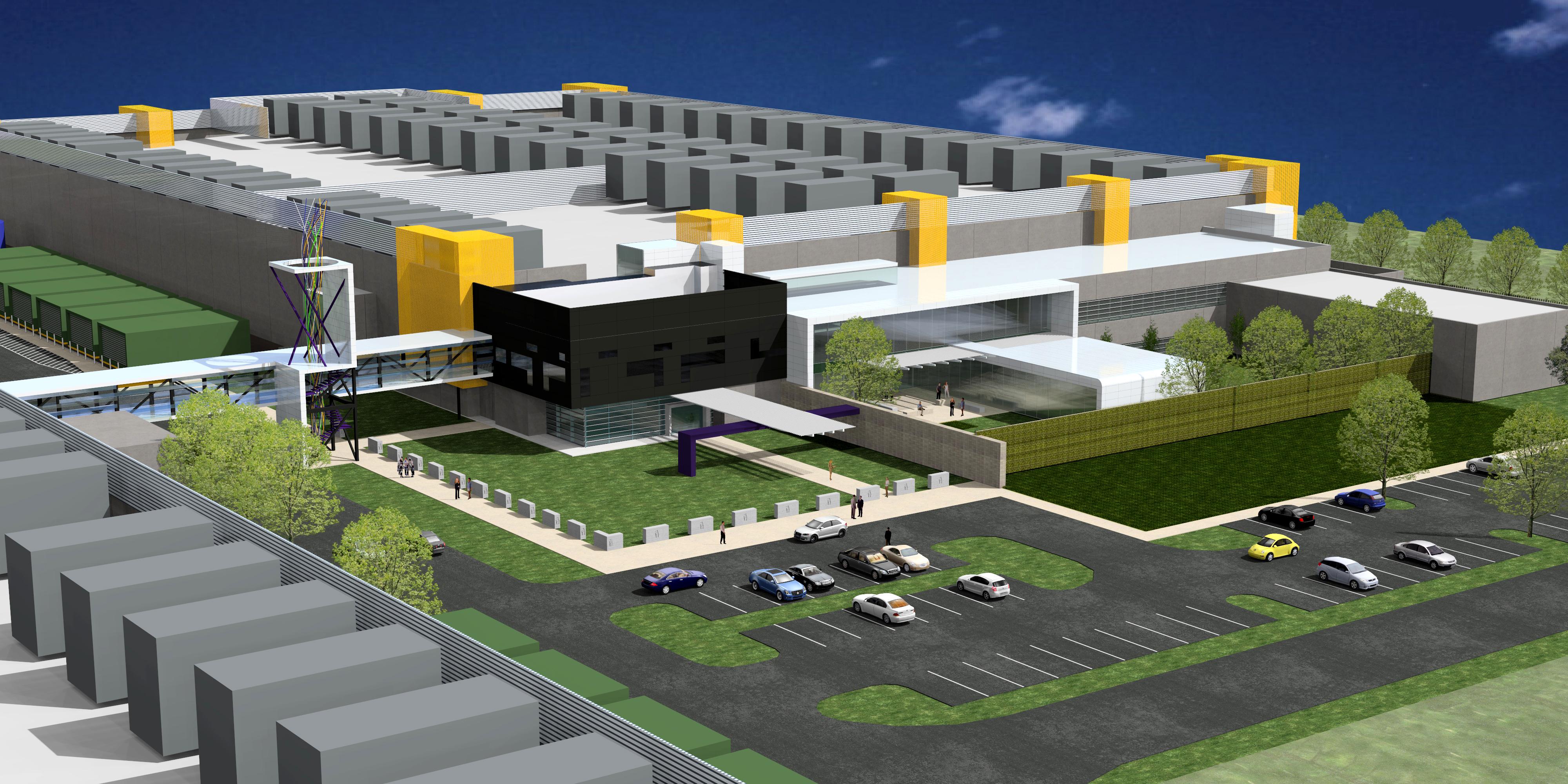 1 Million Sf Data Center Under Way Near Dallas