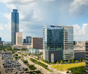 BBVA Compass Plaza, 2200 Post Oak Blvd., Houston.