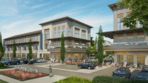 Rendering of Memorial Green development by Midway. Construction of the commercial space in the project will be complete in early 2017.