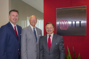 JLL is buying Integra Realty Resources to launch its entry into the valuation business in the U.S. From left, Mike Welch, Dan Bellow and David Dominy of Houston.