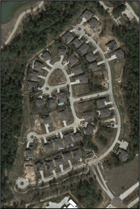 Figure 1. Trail Network of Audubon Grove. Photo: Google Earth