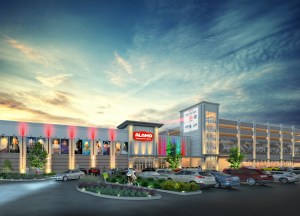 Rendering of La Centerra's final phase, which will be anchored by an Alamo Drafthouse cinema.