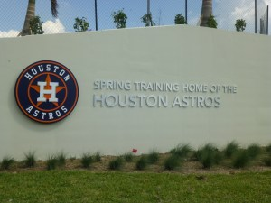 The spring training home of the Houston Astros opens Tuesday.