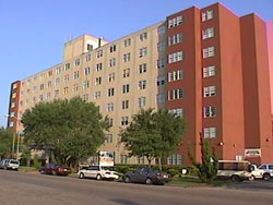 The 223-unit Houston Heights Tower for seniors has been renovated.