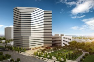The 5718 Westheimer building, just west of Houston's Galleria, is getting a major redo. CBRE handles leasing for the tower.